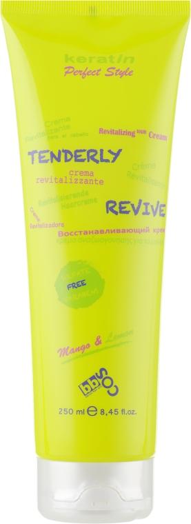 Восстанавливающий безсульфатный крем для волос - BBcos Keratin Perfect Style Revitalizante Creme