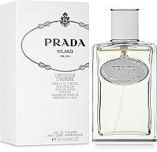 Духи, Парфюмерия, косметика Prada Infusion dHomme / Prada Milano - Туалетная вода