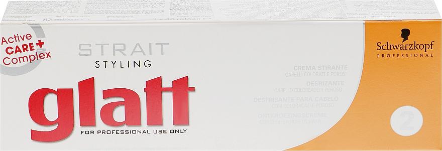 Набор для выравнивания волос - Schwarzkopf Professional Strait Styling Glatt kit 2 (cr/82ml + balm/2x40ml)