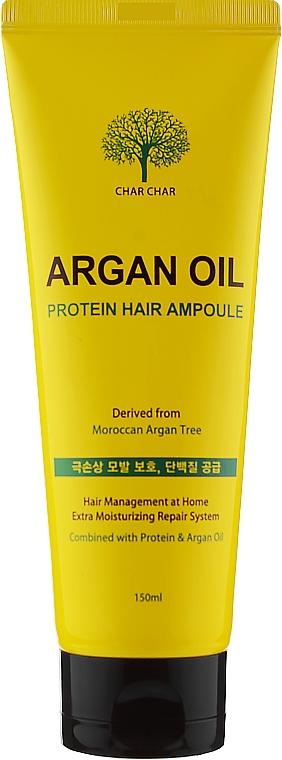 Сыворотка для волос с аргановым маслом - Char Char Argan Oil Protein Hair Ampoule