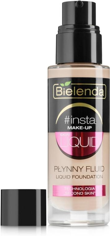 Жидкий тональный флюид - Bielenda Insta Make-Up Skin Liquid Foudation
