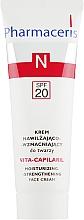 Духи, Парфюмерия, косметика Крем увлажняющий с укрепляющим эффектом для лица - Pharmaceris N Vita Capilaril Moisturizing-Strengthening Face Cream SPF20