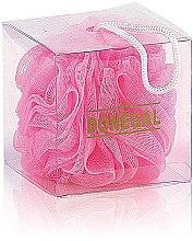 Духи, Парфюмерия, косметика Мочалка для душа 9549, розовая - Donegal Wash Sponge