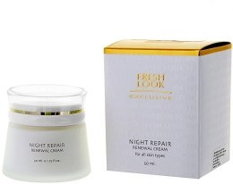 Духи, Парфюмерия, косметика Обновляющий ночной крем для всех типов кожи - Fresh Look Night Repair Renewal Cream