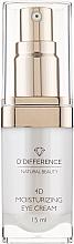 Духи, Парфюмерия, косметика 4D увлажняющий крем для кожи вокруг глаз - D'Difference Natural Beauty 4D Moisturizing Eye Cream