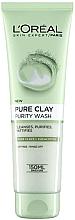 Духи, Парфюмерия, косметика Гель для умывания - L'Oreal Paris Skin Expert Pure Clay Purity Foaming Wash