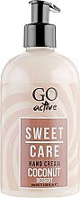 Духи, Парфюмерия, косметика Крем для рук - GO Active Sweet Care Coconut Dessert Hand Cream