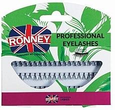 Духи, Парфюмерия, косметика Набор пучковых ресниц, 10 мм - Ronney Professional Eyelashes 00033