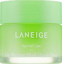 Духи, Парфюмерия, косметика Интенсивно регенерирующая маска для губ с ароматом яблока и лайма - Laneige Lip Sleeping Mask Apple Lime