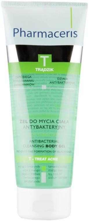 Антибактериальный гель для мытья тела - Pharmaceris T Body-Sebostatic Antibacterial Cleansing Body Gel