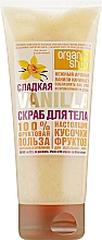 Духи, Парфюмерия, косметика Скраб для тела Сладкая ваниль - Organic Shop Body Scrub