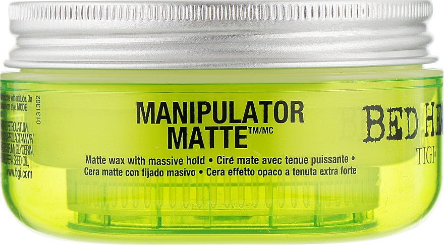 Мастика матовая сильной фиксации - Tigi Manipulator Matte