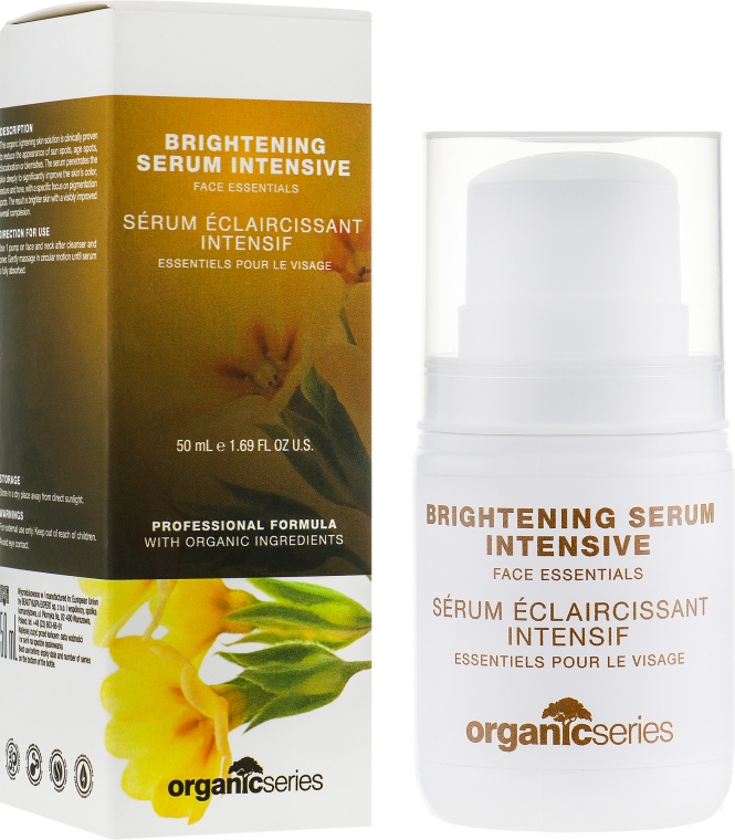 Осветляющая сыворотка - Organic Series Brightening Serum Intensive