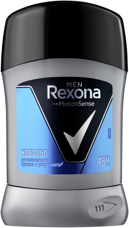 "Антиперспирант-стик ""Cobalt"" - Rexona Antiperspirant Stick"
