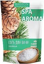 Духи, Парфюмерия, косметика Морская соль хвойная для ванн с эфирными маслами кедра и кипариса - Bioton Cosmetics Sea Salt