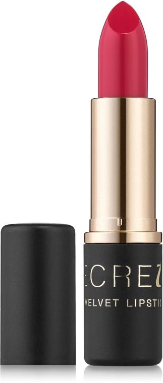 Стойкая матовая помада для губ - Bell Secretale Velvet Lipstick