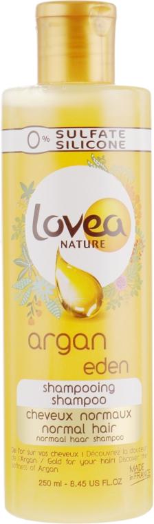 Шампунь для нормальных волос - Lovea Argan Eden Shampoo