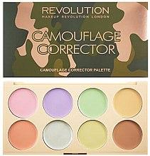 Духи, Парфюмерия, косметика Палетка цветных кремовых корректоров - Makeup Revolution Camouflage Corrector Palette