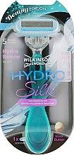 Духи, Парфюмерия, косметика Станок для бритья + 1 сменное лезвие - Wilkinson Sword Hydro Silk Beauty Edition
