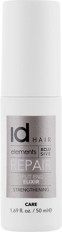 Восстанавливающий спрей для поврежденных волос - idHair Elements Xclusive Repair Split End Elixir