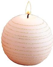 Духи, Парфюмерия, косметика Декоративная свеча, розово-золотая, шар, 10 см - Artman Andalo