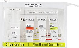 Духи, Парфюмерия, косметика Набор - Dermaceutic Laboratoire 21 Days Expert Care Advanced Recovery (cr/15ml + cr/12ml + conc/12ml + foam/30ml)