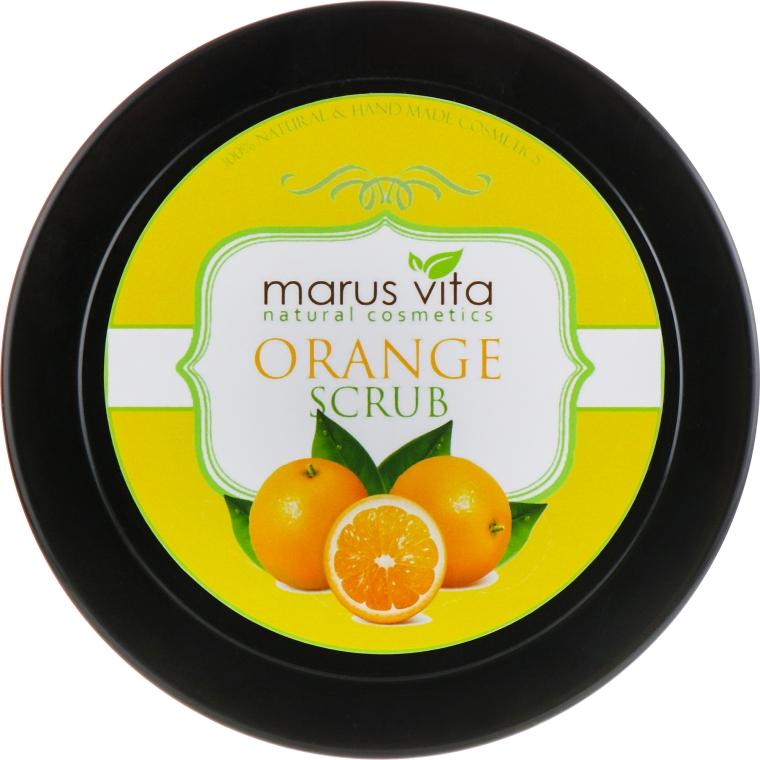 "Скраб для тела ""Апельсиновый"" - Marus Vita Body Scrub"