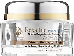 Духи, Парфюмерия, косметика Антивозрастной восстанавливающий крем для очень сухой кожи - Rexaline Line Killer X-Treme Renovator Rich Cream