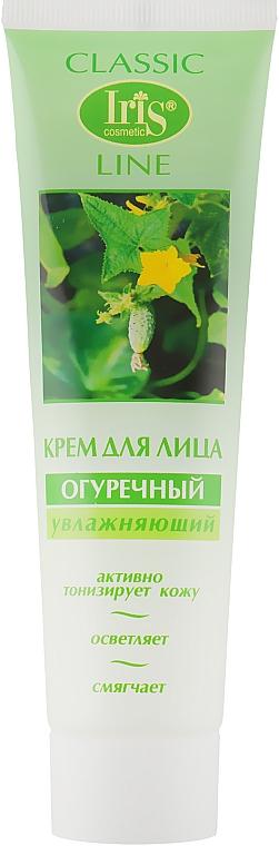 Крем для лица с экстрактом огурца увлажняющий - Iris Cosmetic