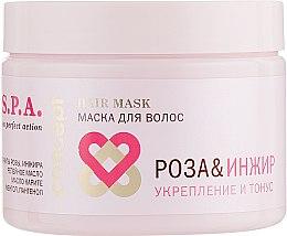 "Духи, Парфюмерия, косметика Маска для волос ""Роза и инжир"" - Concept Spa Power Tonus Hair Mask"