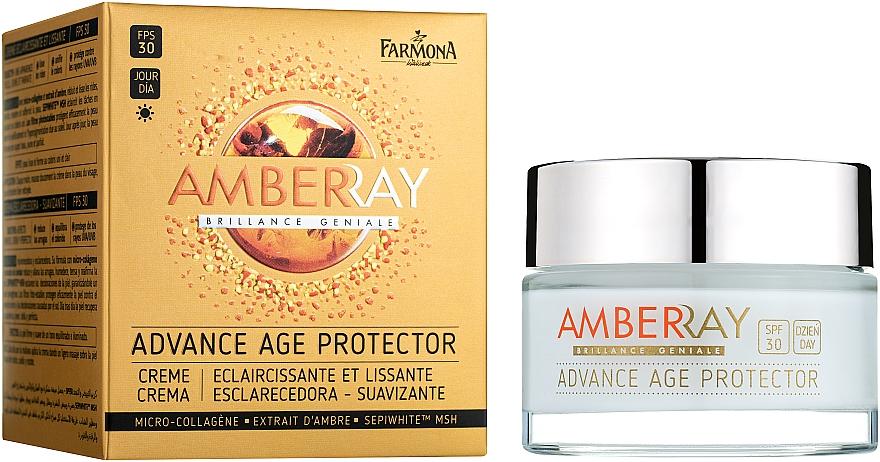 """Омолаживающий дневной крем для лица """"Янтарный"""" - Farmona Amberray Cream SPF30"""