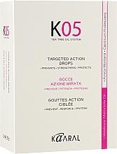 Духи, Парфюмерия, косметика Капли против выпадения волос направленного действия - Kaaral К05 Lotion To Towel Dried Hair