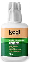 Духи, Парфюмерия, косметика Ремувер для ресниц гелевый - Kodi Professional Top Class Remover Gel