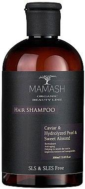 Шампунь-ревитализант с икрой, жемчугом и миндалем - Mamash Organic Hair Shampoo