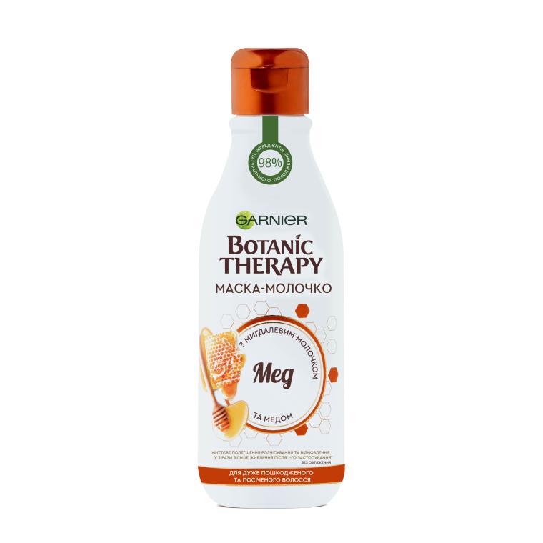"""Восстанавливающая маска для поврежденных волос """"Мед"""" - Garnier Botanic Therapy Hair Milk Mask"""