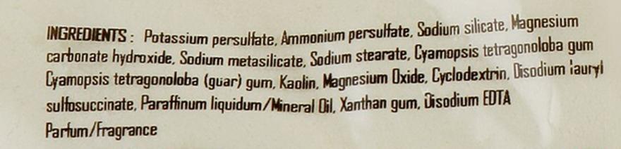 Осветляющий беспылевой порошок в пакете, белый - Inebrya Bleaching Powder White — фото N2