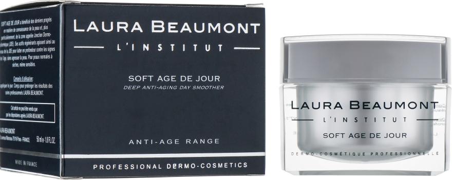 Нежный дневной антивозрастной крем - Laura Beaumont Soft Age De Jour Day Care