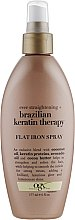 Духи, Парфюмерия, косметика Спрей-термозащита для волос - OGX Flat Brazilian Keratin Therapy Iron Spray