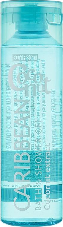 Гель-Пена Для Душа И Ванны ''Карибский Кокос'' - Mades Cosmetics Body Resort Caribbean Bath&Shower Gel Coconut Extract