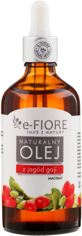 Масло Ягод годжи - E-Flore Natural Oil — фото N1