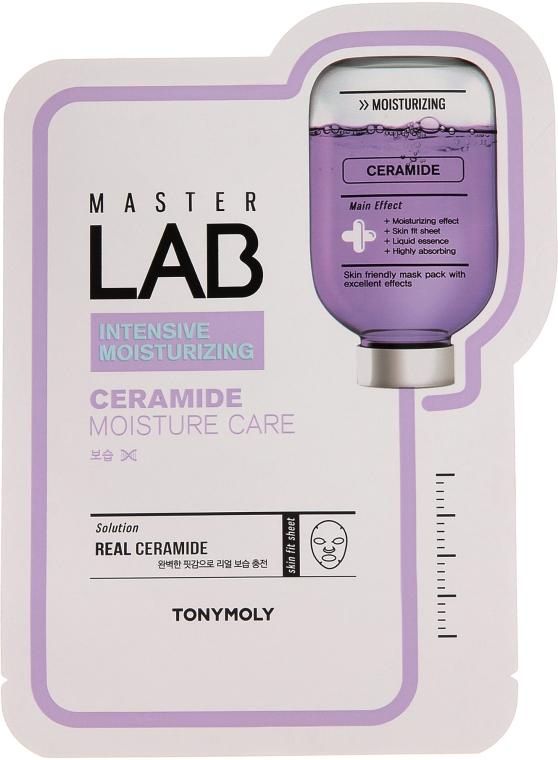 Тканевая маска для лица с керамидами - Tony Moly Master Lab Ceramide Mask