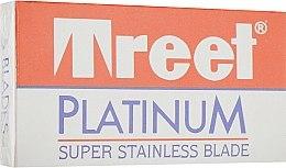 Парфумерія, косметика Леза для багаторазових станків - Treet Platinum