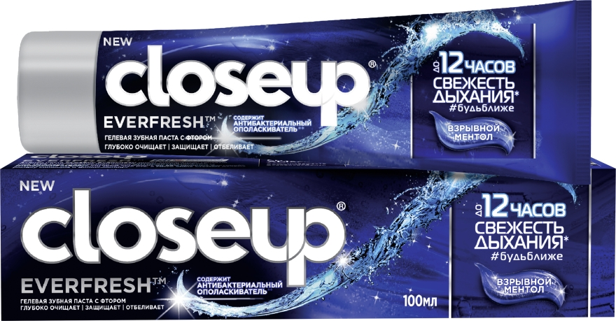 """Зубная паста """"Взрывной ментол"""" - Closeup Everfresh"""
