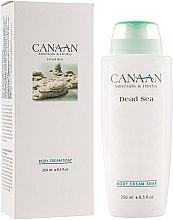 Духи, Парфюмерия, косметика Крем-мыло для тела - Canaan Minerals & Herbs Body Cream Soap