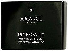 Воск и тени для бровей - Arcancil Paris Diy Eyebrow Kit — фото N2