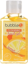 """Духи, Парфюмерия, косметика Антибактериальный очищающий гель для рук """"Лимон"""" - Bubble T Cleansing Hand Gel"""