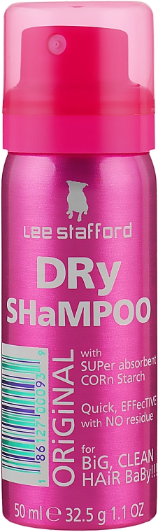 Сухой шампунь - Lee Stafford Poker Straight Dry Shampoo Original