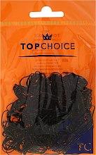 Духи, Парфюмерия, косметика Резинки для волос 22722, черные - Top Choice