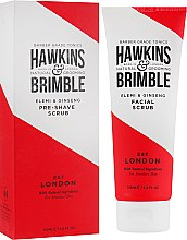 Духи, Парфюмерия, косметика Скраб для лица - Hawkins & Brimble Pre-Shave Facial Scrub