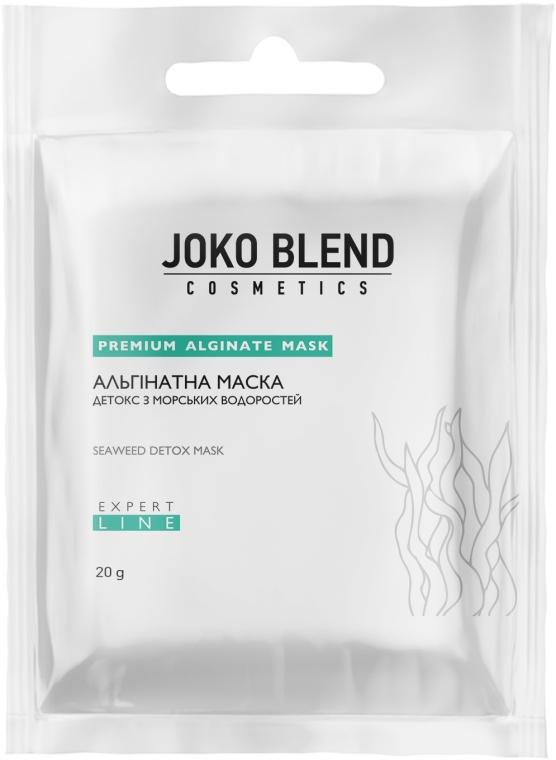 Альгинатная маска детокс и морскими водорослями - Joko Blend Premium Alginate Mask